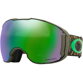 Oakley Airbrake XL Snow Goggle Camo Vine Jungle/Prizm Jade Iridium & Prizm Rose